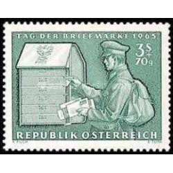 1 عدد تمبر روز تمبر - اتریش 1965