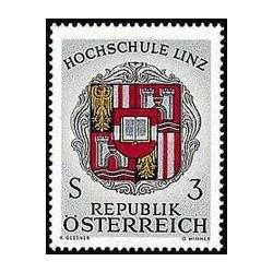 1 عدد تمبر دانشگاه لینز - اتریش 1966