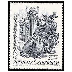 1 عدد تمبر 125مین سالگرد ارکستر فیلار مونیک وین - اتریش 1967