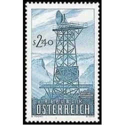 1 عدد تمبر راه اندازی رسمی شبکه رادیویی اتریش - اتریش 1959