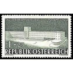 1 عدد تمبر روز تمبر - اتریش 1957