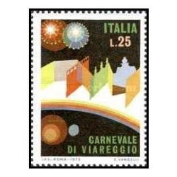 1 عدد تمبر کارناوال ویاریگو - ایتالیا 1973