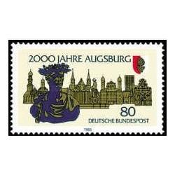 1 عدد تمبر 2000مین سالگرد آگسبورگ - جمهوری فدرال آلمان 1985