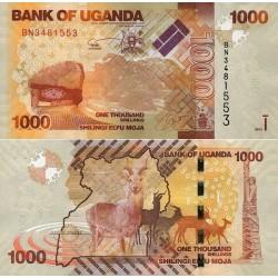 اسکناس 1000 شلینگ - اوگاندا 2013