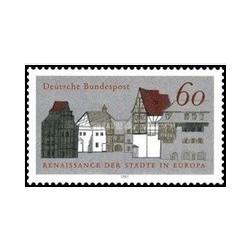 1 عدد تمبر مرمت ساختمانها در اروپا - جمهوری فدرال آلمان 1981