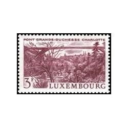 1 عدد تمبر دوشس بزرگ شارلوت پل - لوگزامبورگ 1966
