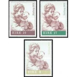 3 عدد تمبر کریسمس - ایرلند 1978