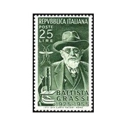 1 عدد تمبر 30مین سالگرد مرگ گراسی - ایتالیا 1955