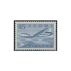 1 عدد تمبر پست هوایی - فنلاند 1959