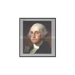 1 عدد تمبر جورج واشنگتن ، 1732 - 1799 - خودچسب - آمریکا 2011