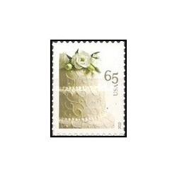 1 عدد تمبر تبریک - خود چسب - آمریکا 2012