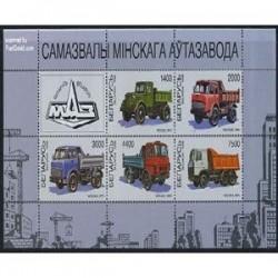 سونیرشیت کامیونهای ساخت مینسک-بلاروس 1998