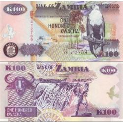 اسکناس 100 کواچا - زامبیا 2006