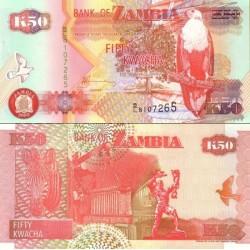 اسکناس 50 کواچا - زامبیا 2003