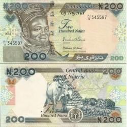 اسکناس 200 نایرا -نیجریه 2014