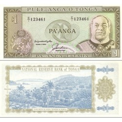 اسکناس 1 پانگا - پادشاهی تونگا 1992