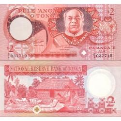اسکناس 1 پانگا - پادشاهی تونگا 1995