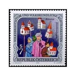 1 عدد تمبر  گنجینه رسوم ملی و فرهنگ عامه - اتریش 2000