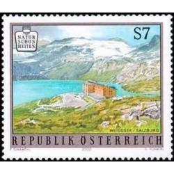 1 عدد تمبر زیبایی های طبیعی اتریش - منظره - اتریش 2000