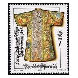 1 عدد تمبر صنایع دستی عتیقه - اتریش 2001