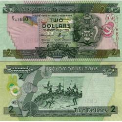 اسکناس 2 دلار - جزایر سلیمان 2011