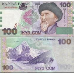 اسکناس 100 سام - قرقیزستان 2002