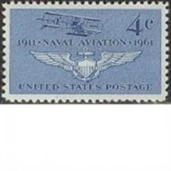 1 عدد تمبر یگان هوانوردی - آمریکا 1961