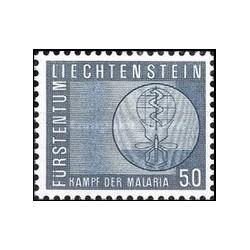 1 عدد تمبر مبارزه علیه مالاریا - لیختنشتاین 1962
