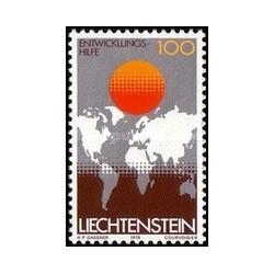 1 عدد تمبر کمک خارجی - لیختنشتاین 1979