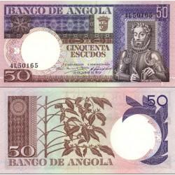 اسکناس 50 اسکودو - آنگولا 1973