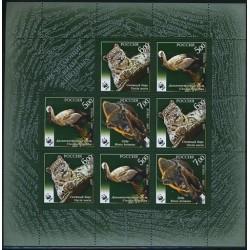 مینی شیت حیوانات - روسیه 2007  WWF