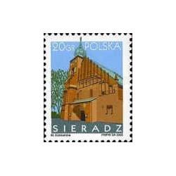 1 عدد تمبر شهرهای لهستان -  Sieradz   - لهستان 2005