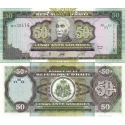 اسکناس 50 گوردس - هائیتی 2003