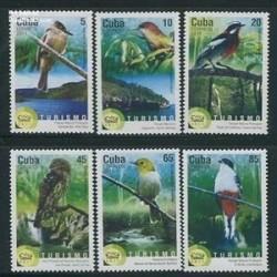 6عدد تمبر پرندگان کوبا - 2011