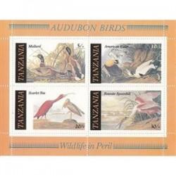 سونیرشیت پرندگان - تانزانیا 1986