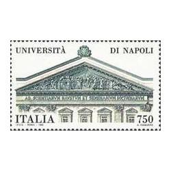 1 عدد تمبر دانشگاه ناپل - ایتالیا 1992