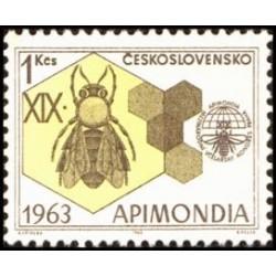 1 عدد تمبر 19مین نمایشگاه بین المللی زنبورداری - چک اسلواکی 1963
