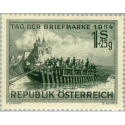 1 عدد تمبر روز تمبر - اتریش 1954 قیمت 8.9 دلار