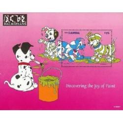 سونیرشیت 101 سگ خالدار -  دیسنی-  گامبیا 1997 قیمت 9 دلار