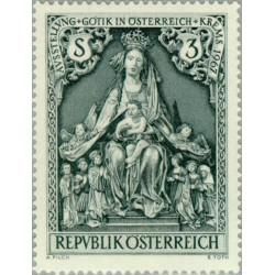1 عدد تمبر سبک معماری گوتیک در کرمس - اتریش 1967