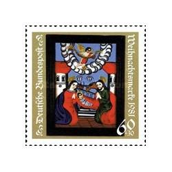 1 عدد تمبر کریستمس - جمهوری فدرال آلمان 1981