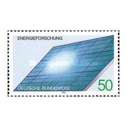 1 عدد تمبر انرژی خورشیدی - جمهوری فدرال آلمان 1981