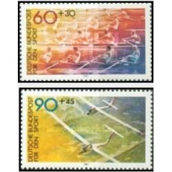 1 عدد تمبر ورزشی - آلمان 1981