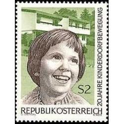 1 عدد تمبر 20مین سال دهکده کودکان در اتریش - اتریش 1969