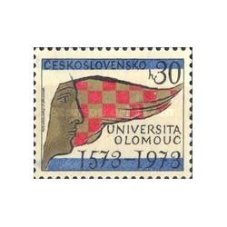 1 عدد تمبر 400 سالگی دانشگاه الوموک - چک اسلواکی 1973
