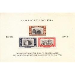 سونیرشیت 400مین سالگرد تاسیس لاپاز - 3 - بولیوی 1951