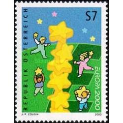 1 عدد تمبر مشترک اروپا - Eropa Cept - اتریش 2000