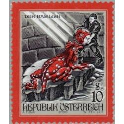1 عدد تمبر قصه ها و افسانه های اتریش - اتریش 2000 قیمت 2.3 دلار