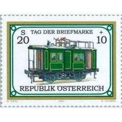 1 عدد تمبر روز تمبر  - اتریش 2001 قیمت 7 دلار