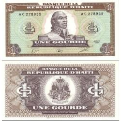 اسکناس 1 گورد - هائیتی 1987
